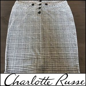 Gray Pencil Skirt | Charlotte Russe | Size L